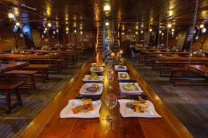 ¿Que hay para disfrutar en el menú del Jolly Roger?